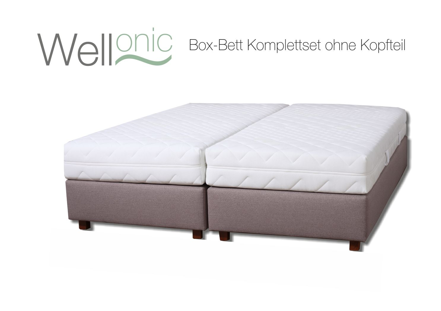 box bettenset ohne kopfteile schlafconcept gmbh. Black Bedroom Furniture Sets. Home Design Ideas